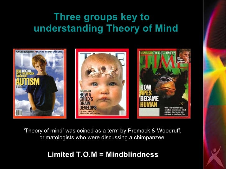 Paper about theory of mind