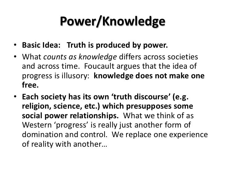 Essay about knowledge is power