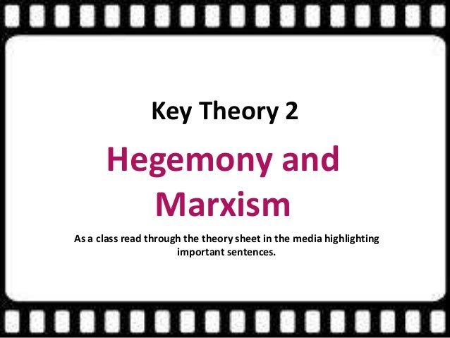 marxism in the media The traditional marxist approach argues the concentration of ownership of the mass media in the hands of a few corporations enables owners to control media output and.
