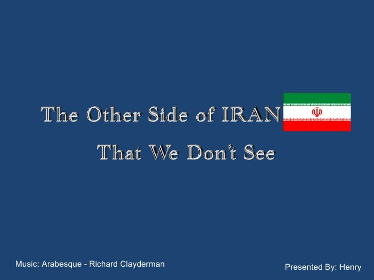 The other side of Iran
