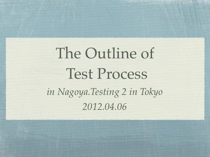 テストプロセス概要