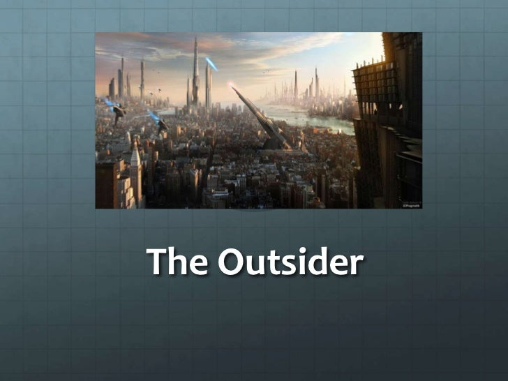 The outsider sci fi