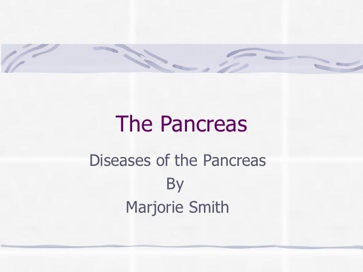 The pancreas
