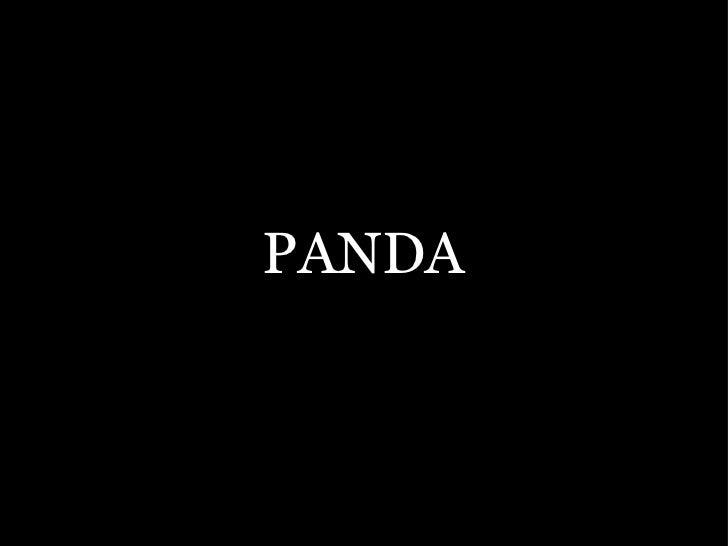 The panda project