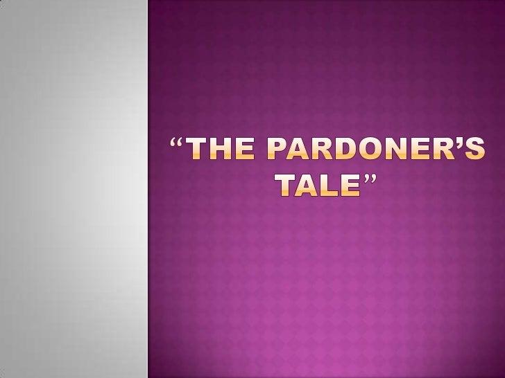 """""""The Pardoner's Tale""""<br />"""