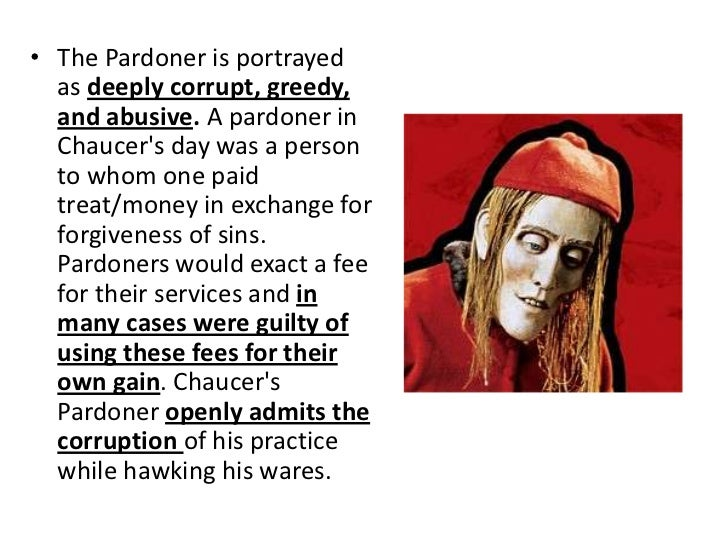 pardoners tale analysis Summary and discussion of the the pardoner's tale.