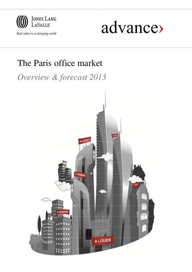 The Paris office market overview & forecast 2013