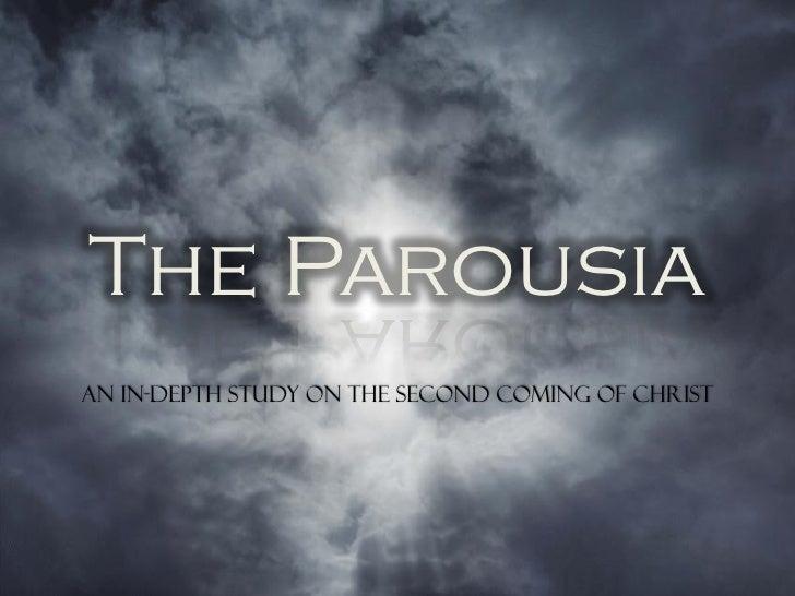 The Parousia - The Antichrist