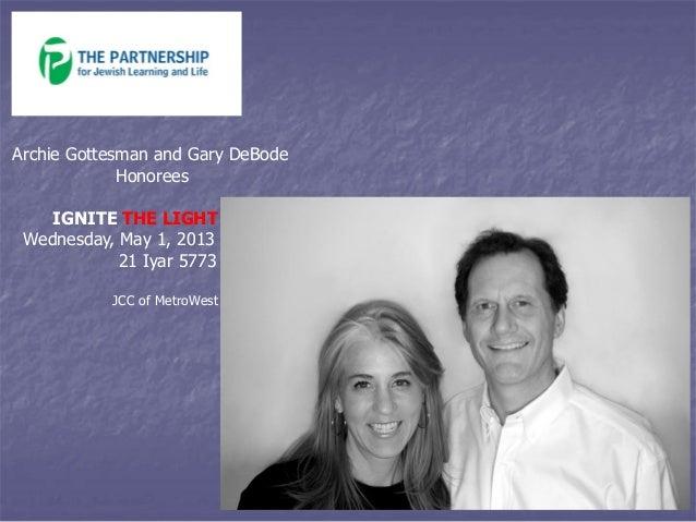 The Partnership - Ignite the Light 2013