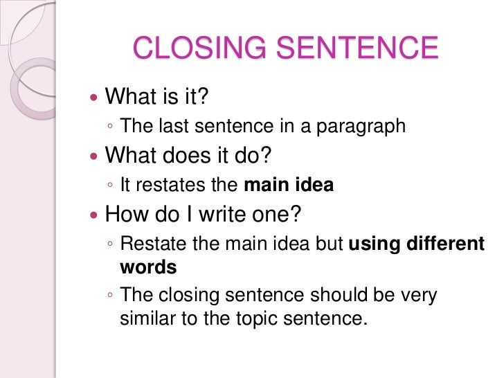 closing words for essays Words and phrases for demonstrating contrast when you're developing an argument, you will often need to present contrasting or opposing opinions or evidence - it could show this, but it could also show this, or x says this, but y disagrees.