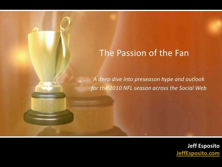 The Passion of the Fan: Using Social Media to Predict the NFL Season