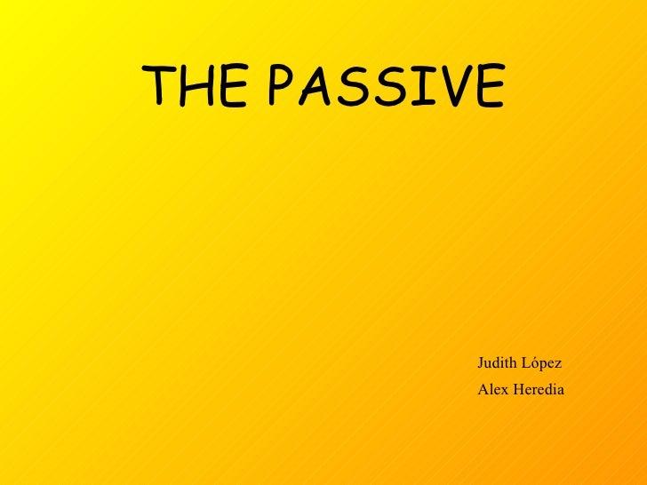 The passive (1)
