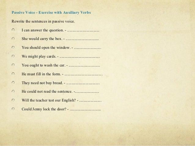 past simple passive exercises pdf
