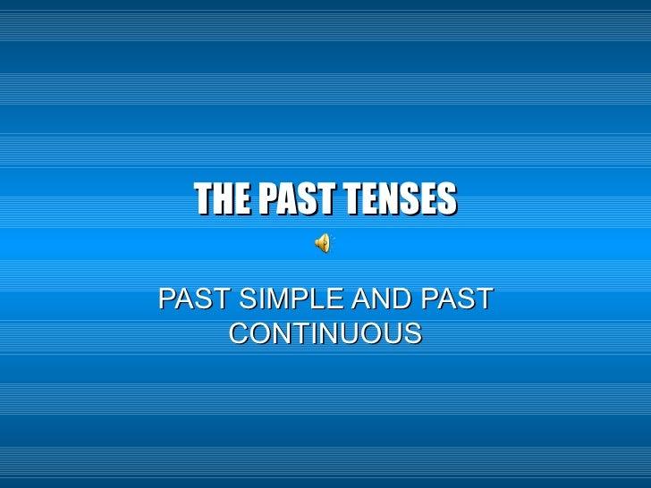 The Past Tenses