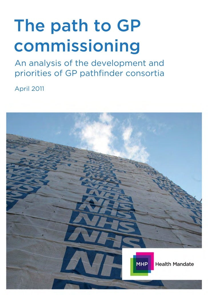 The path to GP commissioning - April 2011