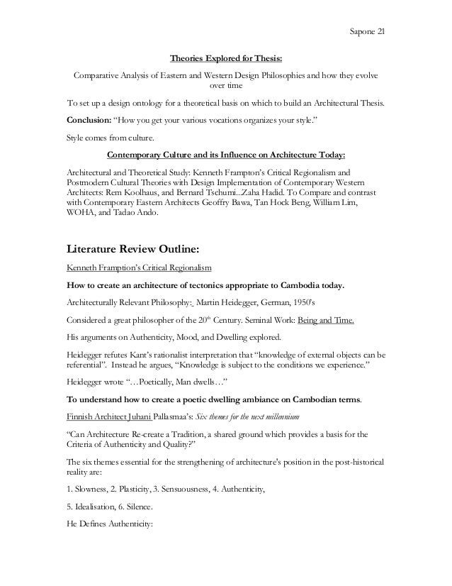 Help on a thesis for
