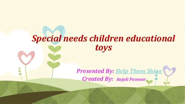 Toys For Special Education : Special needs children educational toys