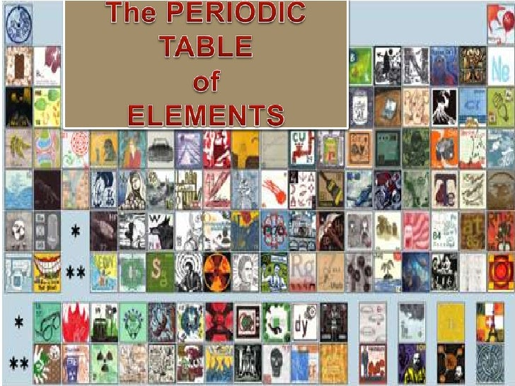 The PERIODIC TABLEofELEMENTS<br />