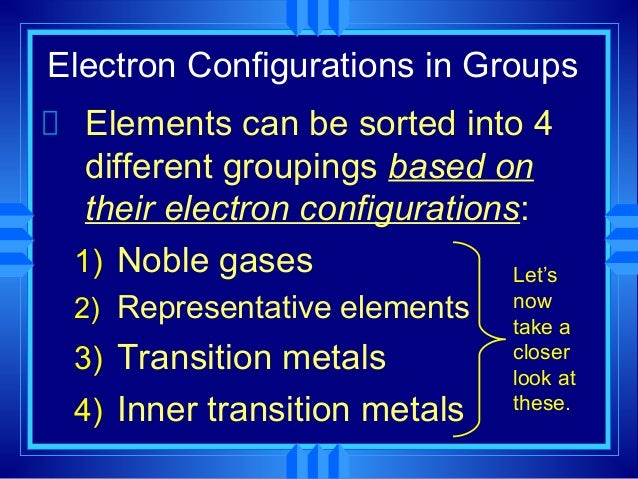 2 Representative Elements