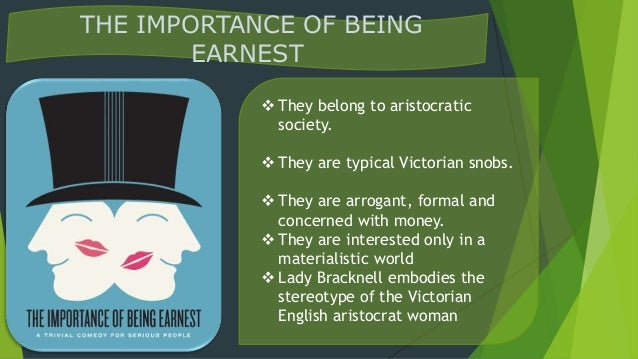 the importance of being ernest character analysis english literature essay The importance of being earnest, demonstrate that the art of wit in 'nonsense literature  the importance of being earnest  character analysis of.