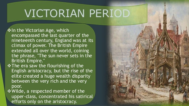 the importance of being victorian oscar A summary of themes in oscar wilde's the importance of being earnest learn exactly what happened in this chapter, scene, or section of the importance of being earnest and what it means.