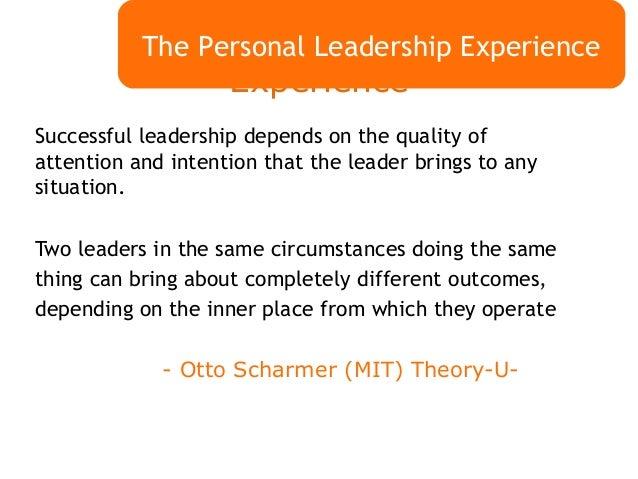 leadership role essays