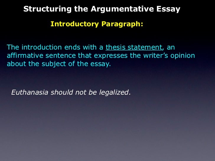 good subjects for an argument essay