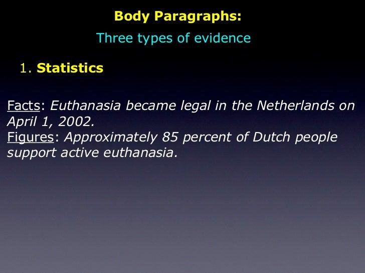 argumentative essay on legalizing euthanasia