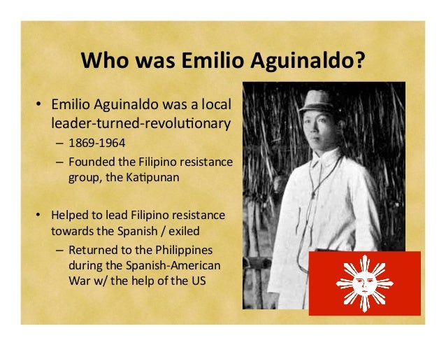 influence of rizal to emilio aguinaldo On the other hand, numerous sources quote that it was general emilio aguinaldo, and not the second philippine commission, who first recognized december 30 as national day of mourning in memory of rizal and other victims of spanish tyranny.
