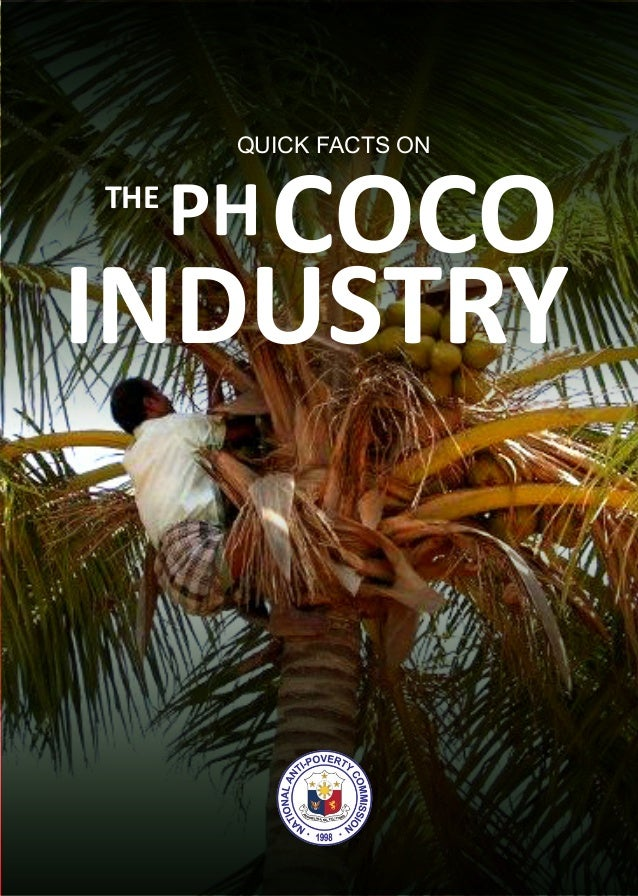 THE PHCOCO INDUSTRY QUICK FACTS ON