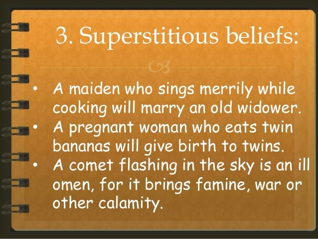 essay on superstitions and science Sample Essay on Superstitions