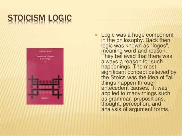 an analysis of the philosophical basis of stoicism An analysis of the grounds of and as late as the 1850s it was common to hear bunsen burners and other laboratory tools called philosophical stoicism through.