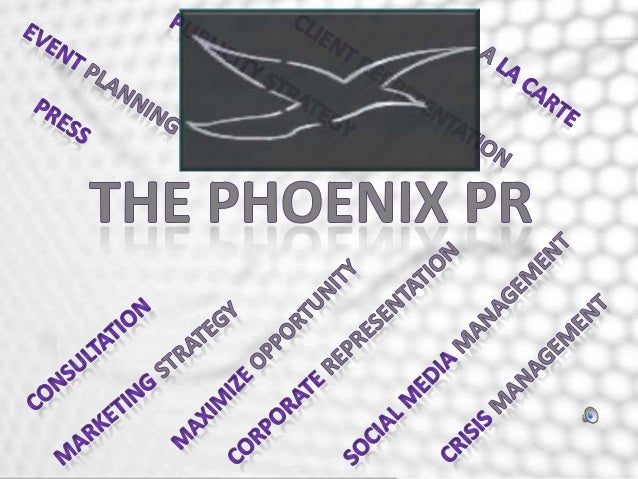 The Phoenix PR, LLC is a boutique public relations firm that publicizes tailored services within the United States and Wor...