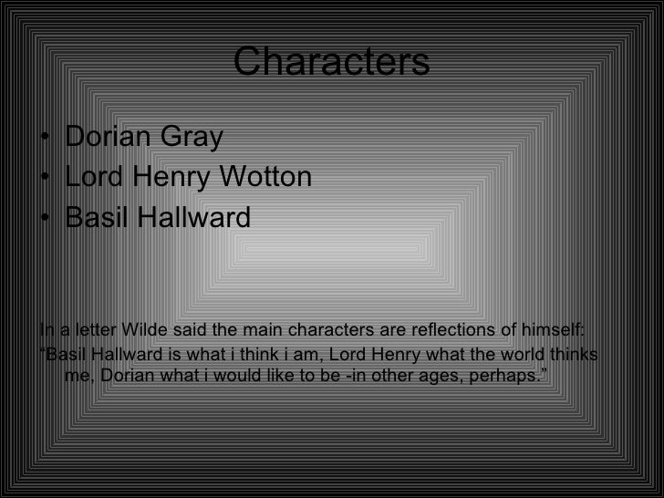 a paper on the main characters of the novel the picture of dorian gray The picture of dorian gray: essay q&a, free study guides and book notes including comprehensive chapter analysis, complete summary analysis, author biography information, character profiles, theme analysis, metaphor analysis, and top ten quotes on classic literature.