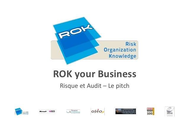 Audit - Le pitch