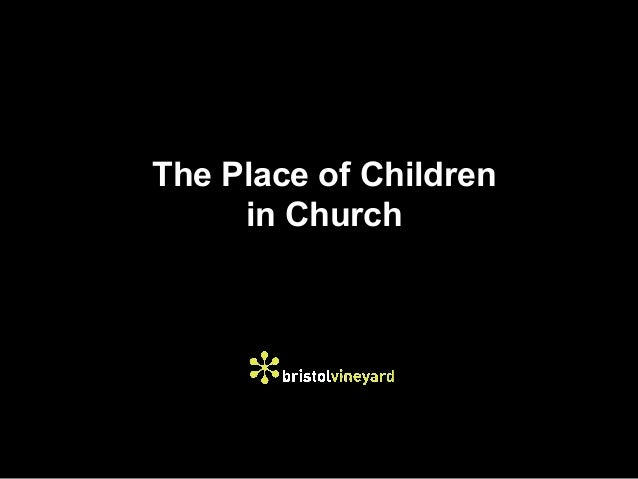 The Place of Children     in Church
