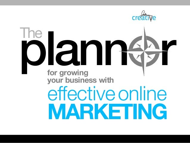 The  plann r for growing your business with  effective online  MARKETING