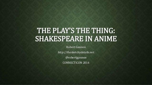 Anime/manga influenced by Shakespeare?