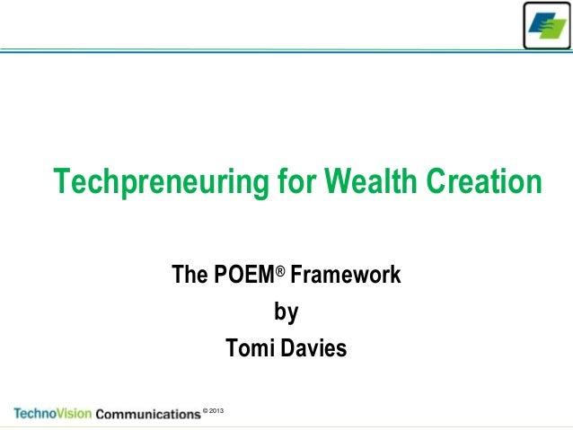 The Poem Framework