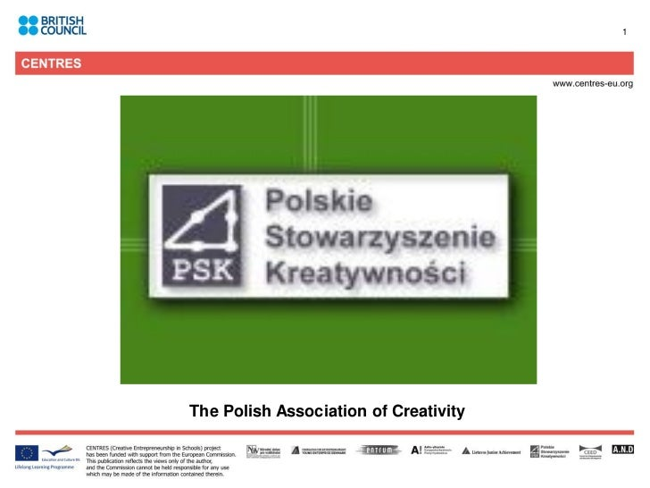 The polish association of creativity presentation