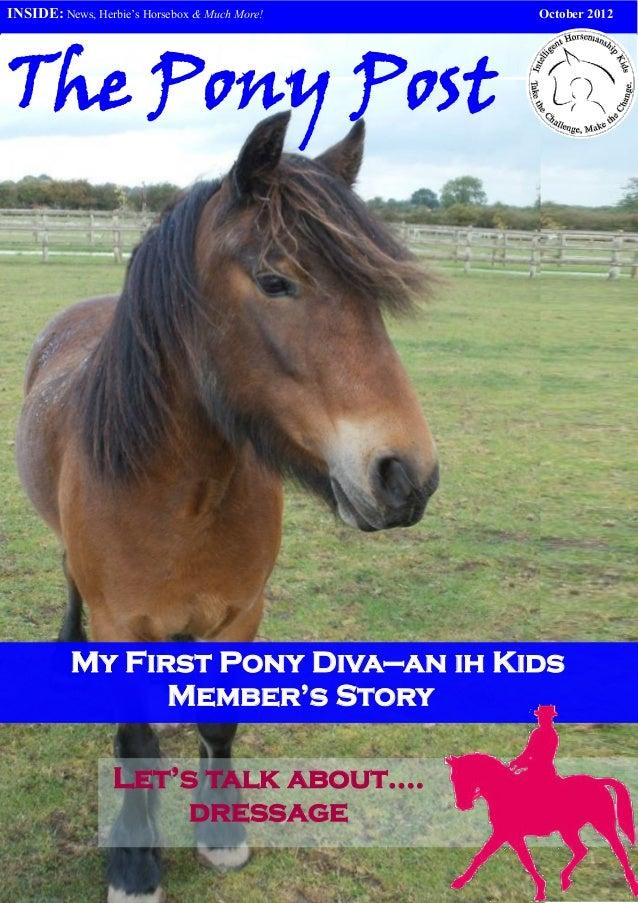 The pony post october v3