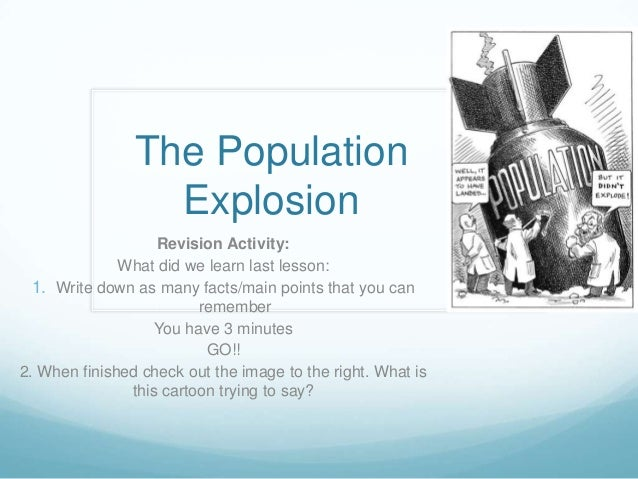 Essay About Overpopulation