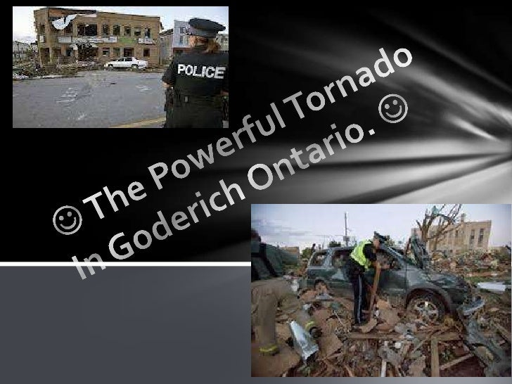 The tornado destroyed cars trees andmuch more.