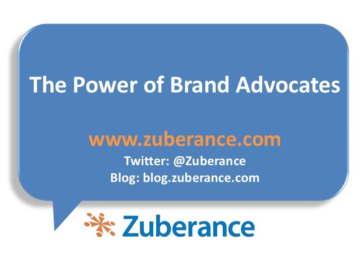 The Power of Brand Advocates