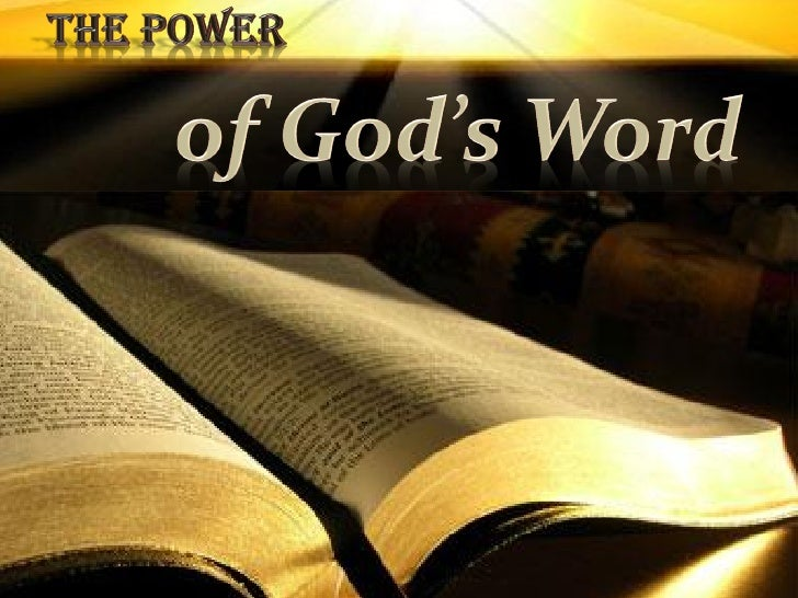 god s word exerts power 15 quotes from the secret power of speaking god's word: 'my family is healthy  and prosperous everything we lay our hand to is blessed —3 john 2.