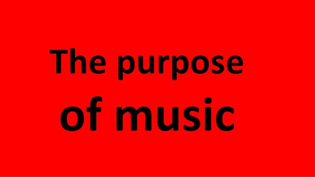 Thepower ofmusic