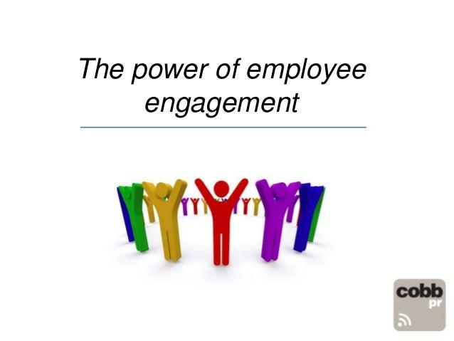 The power of employeeengagement