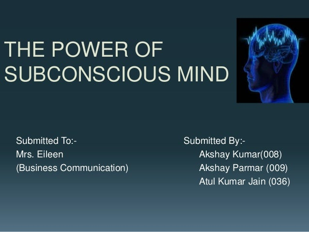 The power of your subconscious mind in hindi pdf 10 2