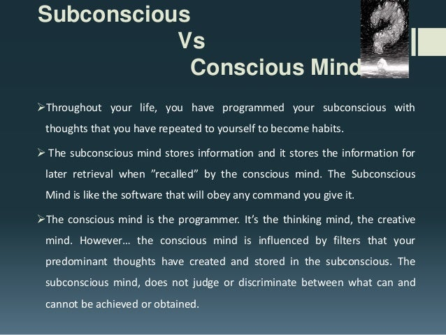 How to Practice Subconscious Mind Power