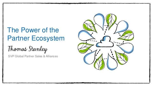 The Power of the Partner Ecosystem SVP Global Partner Sales & Alliances